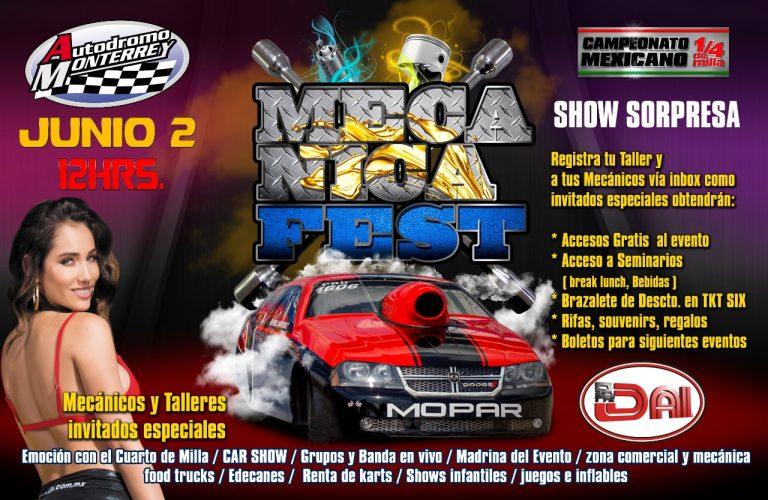 Darán acceso gratuito a mecánicos en Mecánica Fest 2019