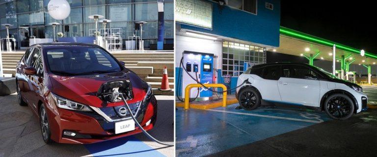 Instalan 500 cargadores de autos eléctricos en México