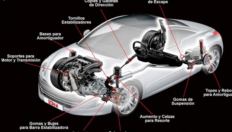 HULES y hules-metal del auto – Capacitación técnica – soporte