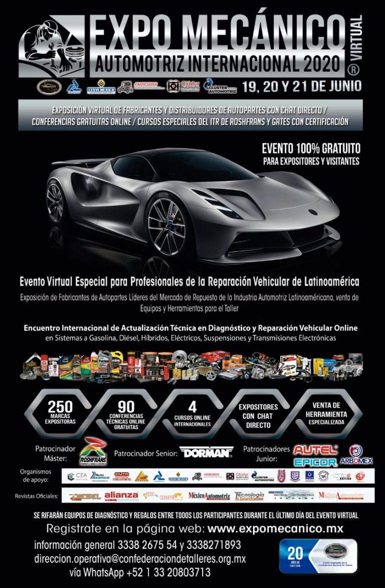 Harán virtual la Expo Mecánico